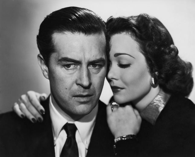 ray milland & jane wyman - the lost weekend 1945